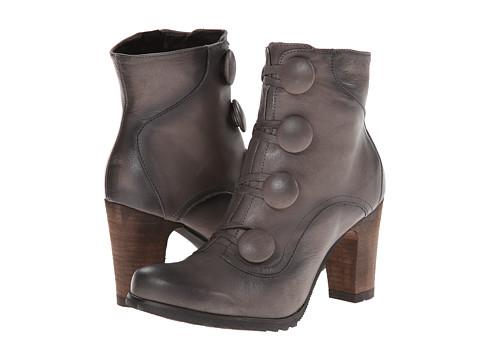 Miz Mooz - Ninette (Grey) Women's Zip Boots