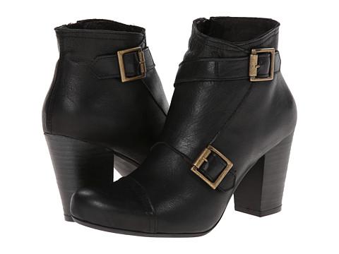 Miz Mooz - Sal (Black) Women's Zip Boots