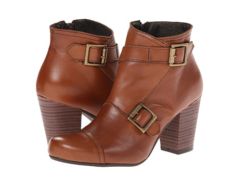 Miz Mooz - Sal (Whiskey) Women's Zip Boots