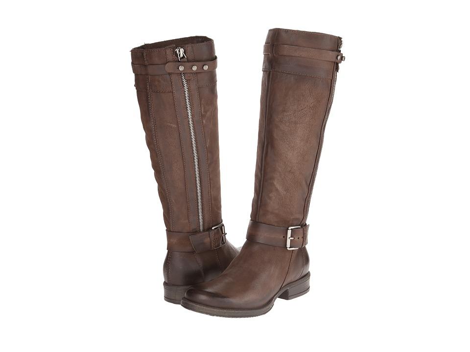 Miz Mooz - Nicola (Smoke) Women's Zip Boots
