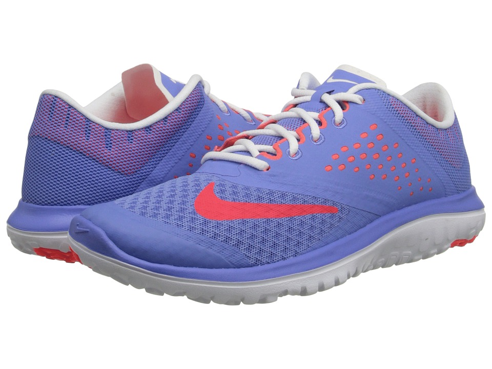 Nike - FS Lite Run 2 (Polar/White/Bright Crimson) Women's Running Shoes