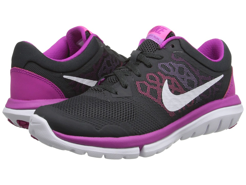 Nike - Flex 2015 RUN (Anthracite/Fuchsia Flash/Fuchsia Glow/Pink Pow) Women's Running Shoes