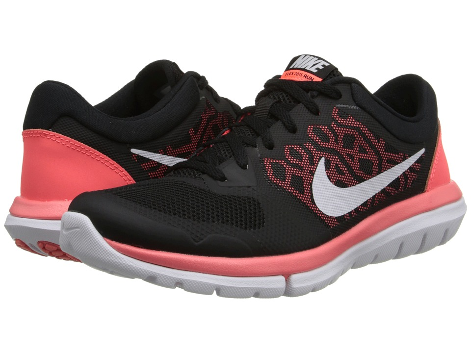 Nike - Flex 2015 RUN (Black/Hot Lava/White) Women