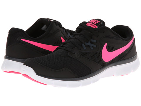 Nike - Flex Experience Run 3 (Black/Classic Charcoal/White/Pink Pow) Women's Running Shoes