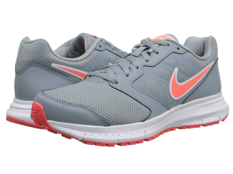 Nike - Downshifter 6 (Dove Grey/Hot Lava) Women's Running Shoes