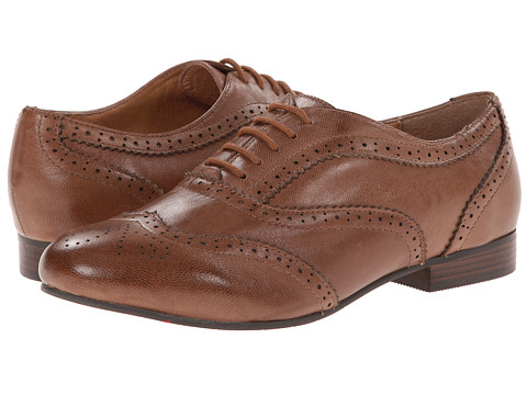 Miz Mooz - Hartley (Brown) Women's Lace Up Wing Tip Shoes