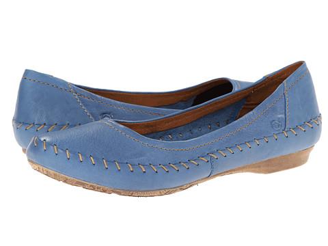 Born - Yara (Light Navy) Women's Flat Shoes