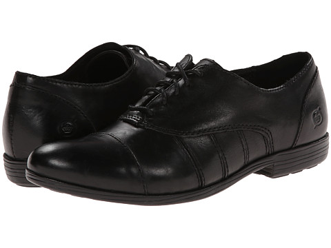 Born - Brooklee (Black Full Grain) Women's Shoes