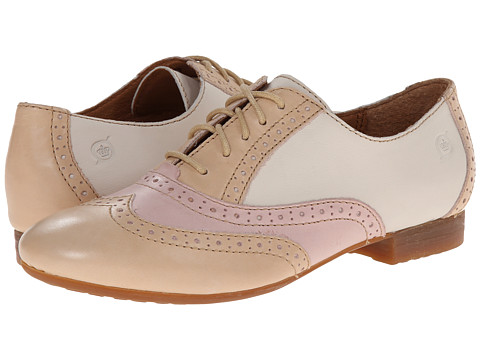 Born - Bristol (Skin (Light Tan)/Rose (Pink)/Latte (Cream)) Women's Lace up casual Shoes