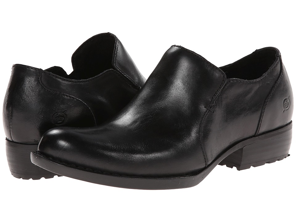 Born - Lovise (Black Full Grain) Women's Shoes