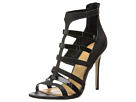 Badgley Mischka - Kimber (Black Leather/Patent) - Footwear