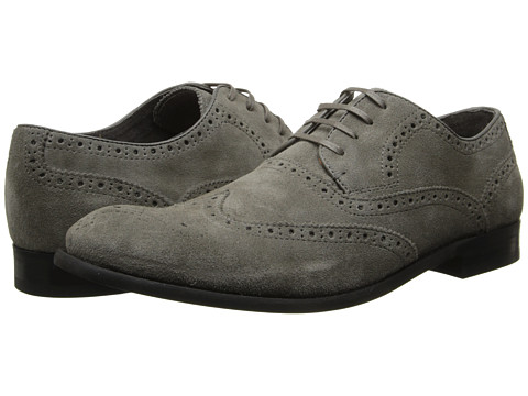 John Varvatos - Star S Laceless Wingtip (Lead) Men