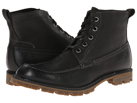 John Varvatos - Star Erik Workboot (Black) Men's Boots