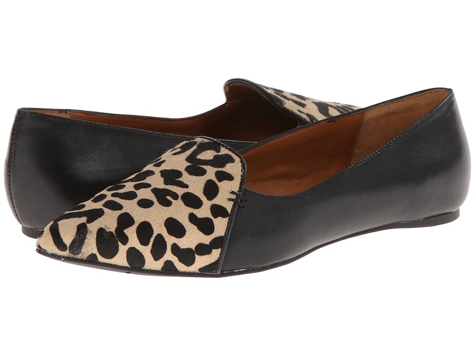 DV by Dolce Vita - Lex-2 (Leopard/Black Calf Hair) Women's Slip on Shoes