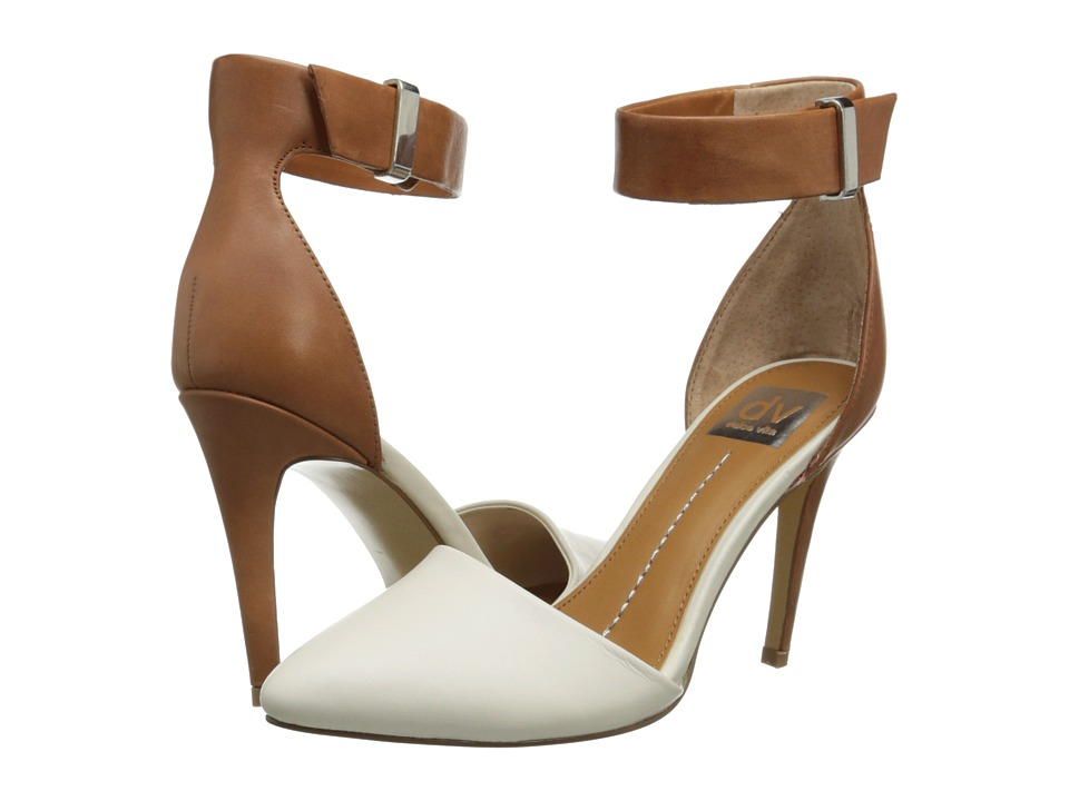 DV by Dolce Vita - Odetta (Bone/Honey Leather) High Heels