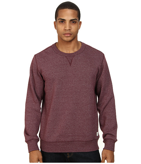 Obey - Eastmont Crew Neck Fleece (Burgundy) Men