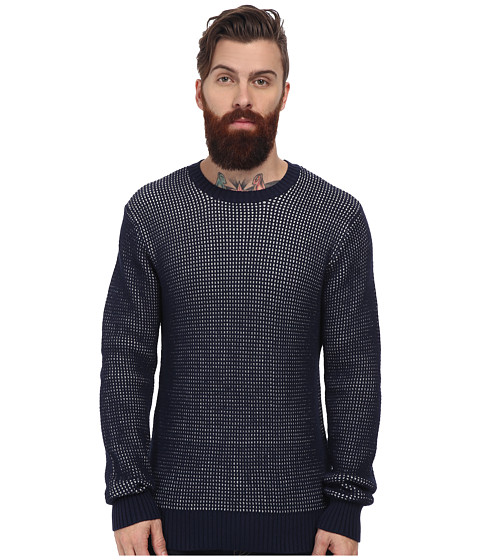 Obey - Sander Sweater (Dark Navy) Men's Sweater