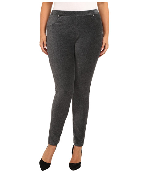 MICHAEL Michael Kors - Plus Size Stretch Corduroy Leggings (Derby) Women's Casual Pants