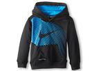 Nike Kids KO Swoosh GFX Hoodie (Toddler) (Black)