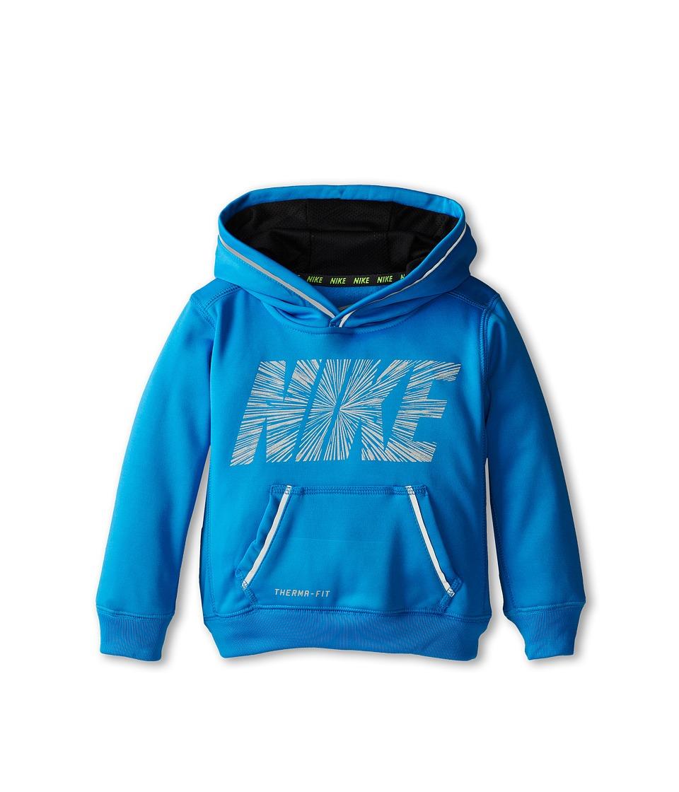 Nike Kids - KO Reflective Hoodie (Toddler) (Photo Blue) Boy