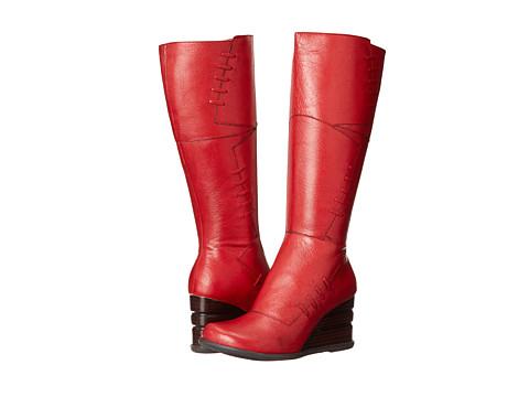 Miz Mooz - Brinley (Red) Women's Zip Boots