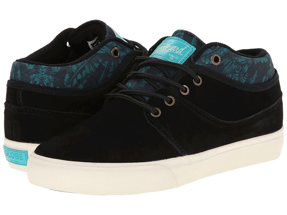 Globe - Mahalo Mid (Black/Palms) Men