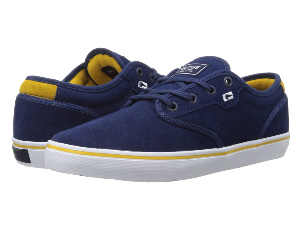 Globe - Motley (Blue/Gold) Men's Skate Shoes