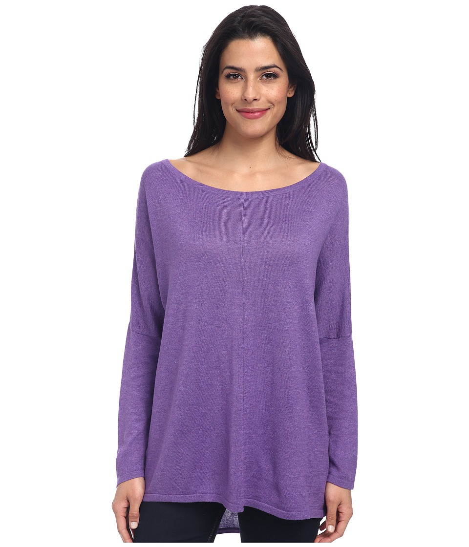 Christin Michaels - Katie 3/4 Sleeve Top (Dusk) Women's Long Sleeve Pullover