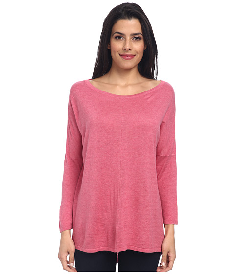 Christin Michaels - Katie 3/4 Sleeve Top (Orchid) Women