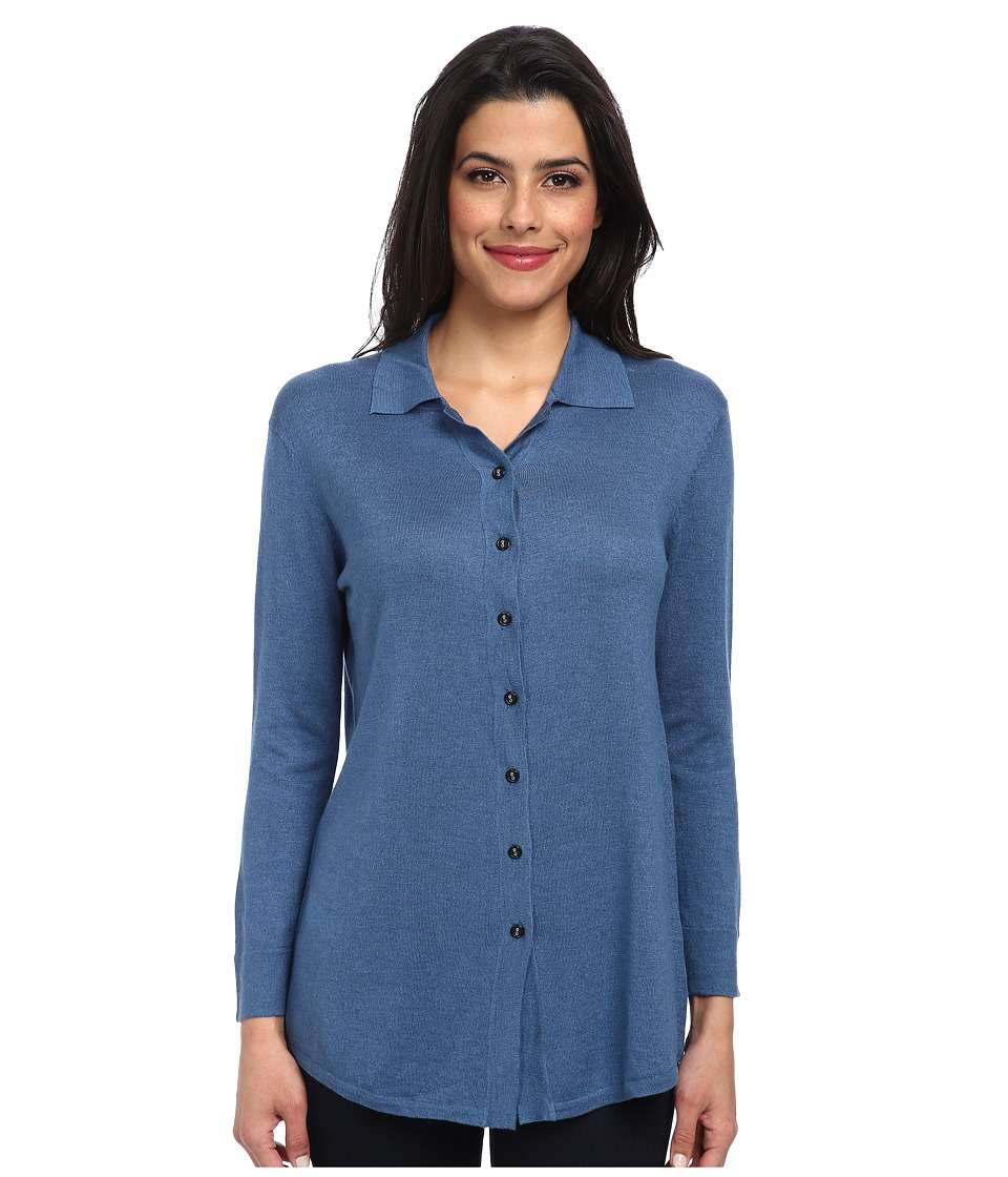 Christin Michaels - Marie 3/4 Sleeve Blouse (Astral) Women's Blouse