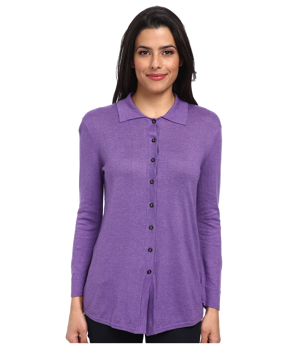 Christin Michaels - Marie 3/4 Sleeve Blouse (Dusk) Women's Blouse