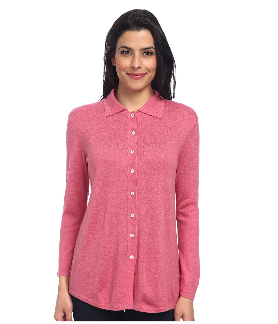 Christin Michaels - Marie 3/4 Sleeve Blouse (Orchid) Women's Blouse