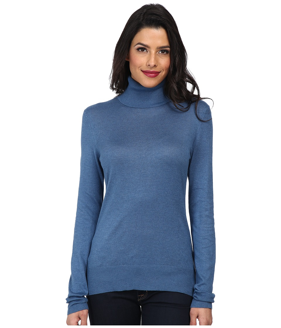 Christin Michaels - Amy Turtle Neck Sweater (Astral) Women