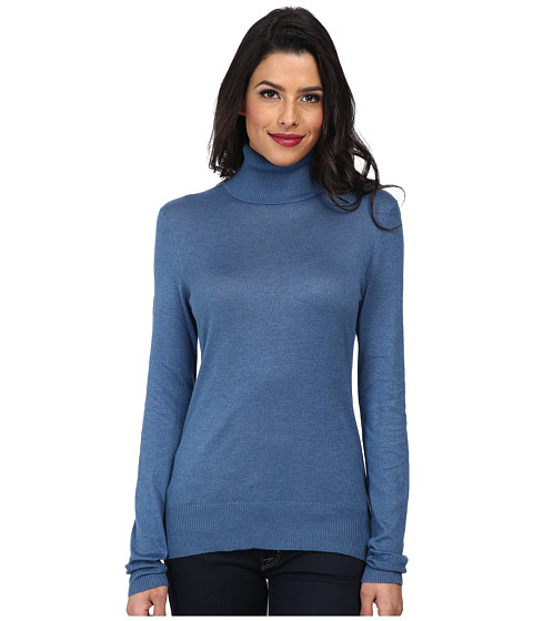 Christin Michaels - Amy Turtle Neck Sweater (Astral) Women's Sweater