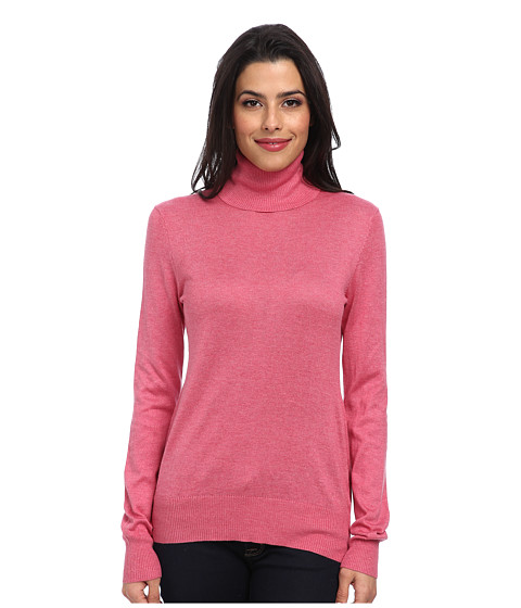 Christin Michaels - Amy Turtle Neck Sweater (Orchid) Women's Sweater