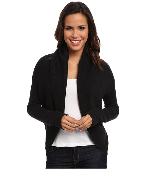 Christin Michaels - Catherine Circle Cardigan (Charcoal) Women's Sweater