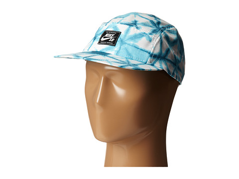 Nike SB - Seasonal Printed 5-Panel (Clearwater/Black/Classic Charcoal) Caps