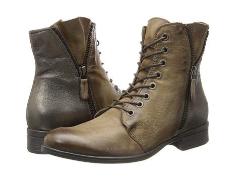 Miz Mooz - Pryce (Khaki) Women's Zip Boots