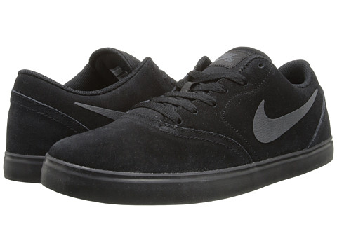Nike SB - Check (Black/Anthracite/Black) Men's Skate Shoes