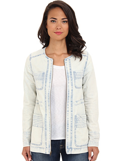 SALE! $37.99 - Save $37 on Jack by BB Dakota Idania Jacket (Light Blue) Apparel - 49.35% OFF $75.00
