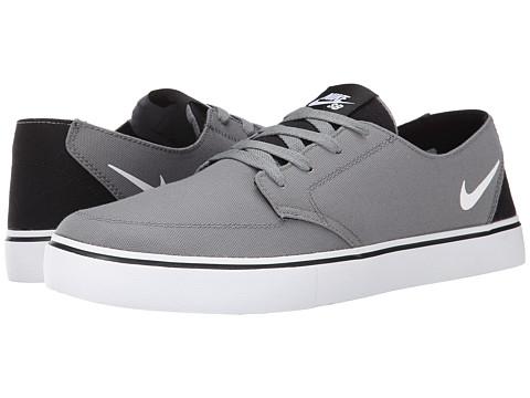Nike SB - Braata LR Canvas (Cool Grey/Black/White) Men