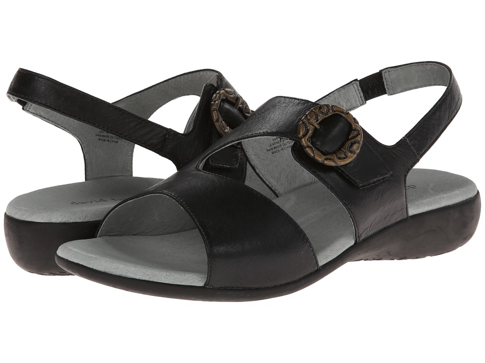 David Tate - Jessica (Black Calf) Women's Shoes