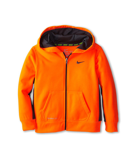 Nike Kids - KO Full-Zip Hoodie (Little Kids) (Hyper Crimson) Boy's Sweatshirt