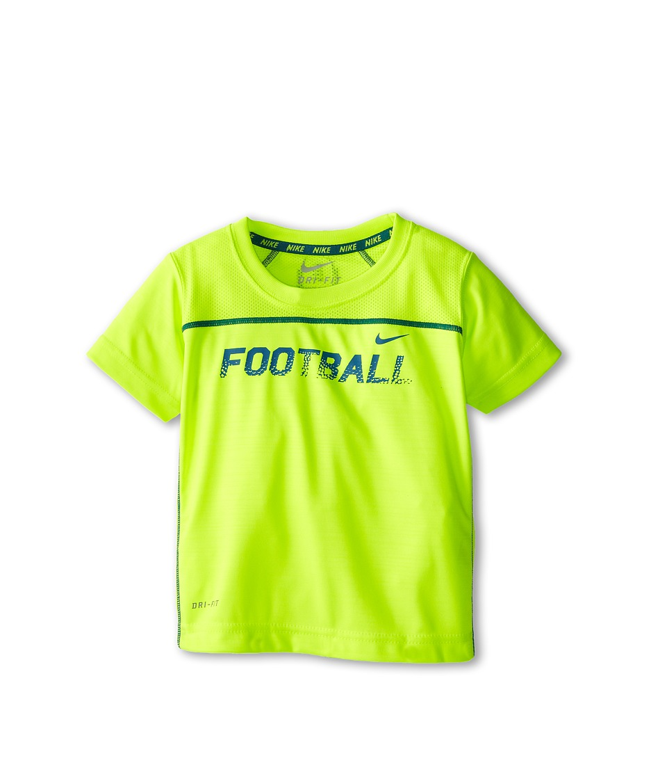 Nike Kids - Field Sport Top (Toddler) (Volt) Boy's T Shirt