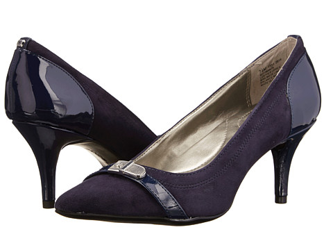 Bandolino - Iwanta (Navy/Navy Suede) Women's Shoes