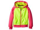 Nike Kids KO Full-Zip Hoodie (Little Kids) (Volt)