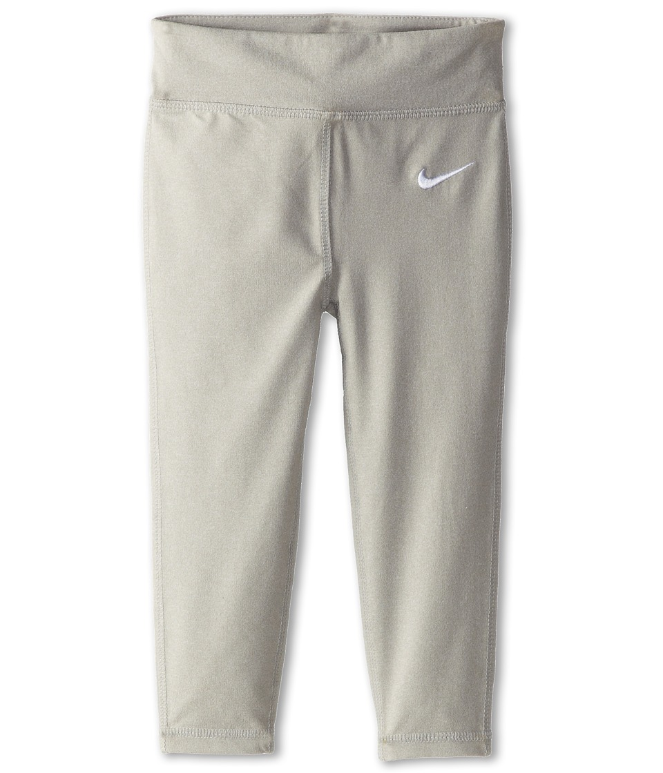 Nike Kids - Dri FIT Sport Essentials Legging (Toddler) (Grey Heather) Girl's Workout