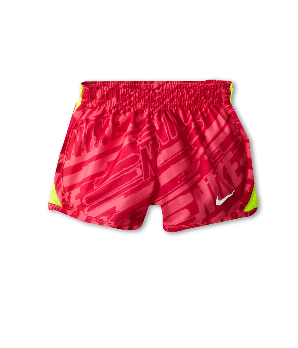 Nike Kids - Printed Tempo Short (Toddler) (Hyper Pink) Girl