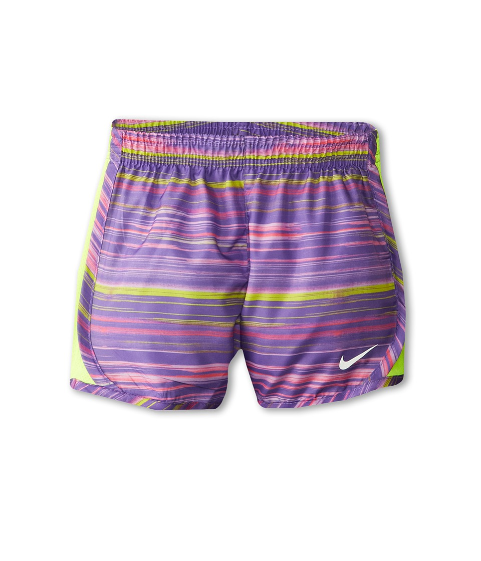 Nike Kids - Printed Tempo Short (Little Kids) (Purple Haze) Girl's Workout