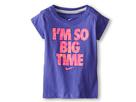 Nike Kids I'm So Big Time Tee (Toddler) (Purple Haze)